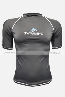 Áo bơi nam tay lỡ ABN08