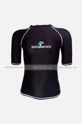 Áo bơi nam tay lửng ABN10