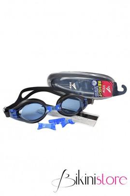 Kính bơi chính hãng View v500s màu xanh đen