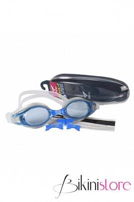 Kính bơi chính hãng View v500s màu xanh trắng