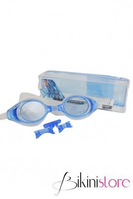 Kính bơi chính hãng View v610s màu xanh trắng