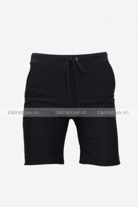 Quần bơi short nam đai đen
